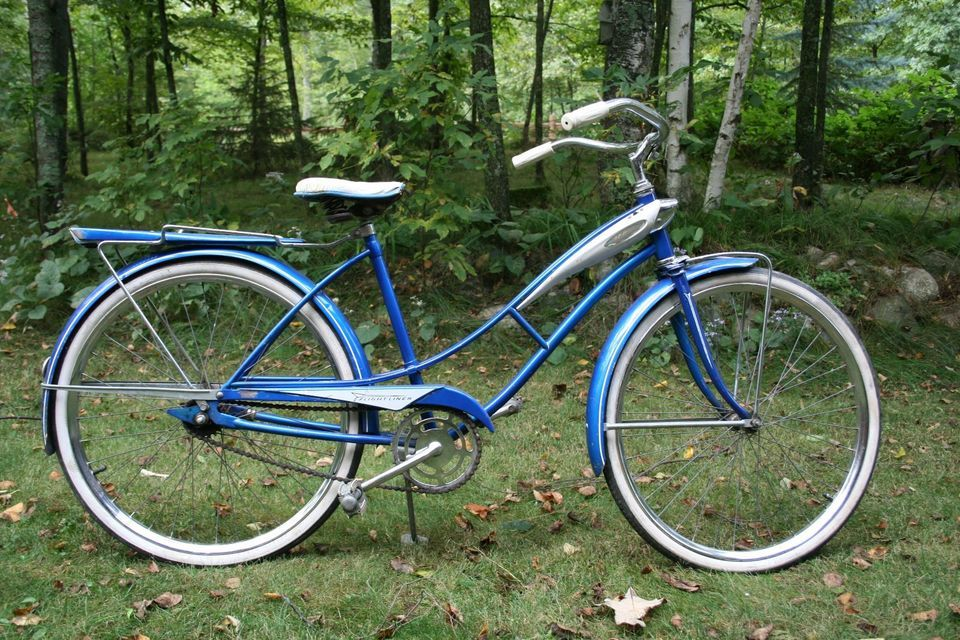 Vintage J C Higgins Women S Bicycle Vintage Bikes Bicycle