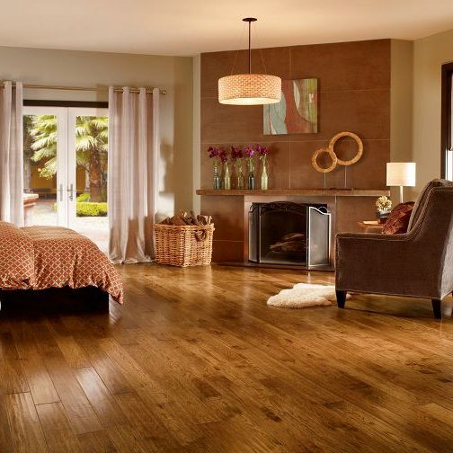 Soho Collection Wide Plank 14mm Georgian Hickory Laminate