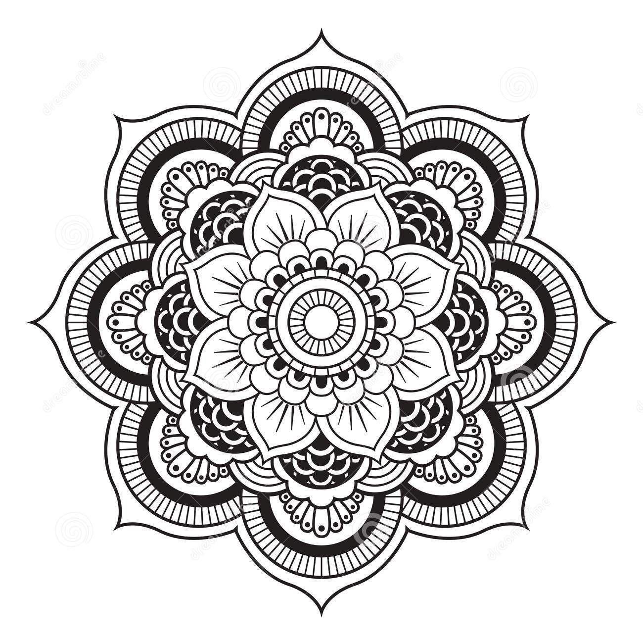 Mandalas  Mandala zum ausdrucken, Mandala vorlagen, Mandala