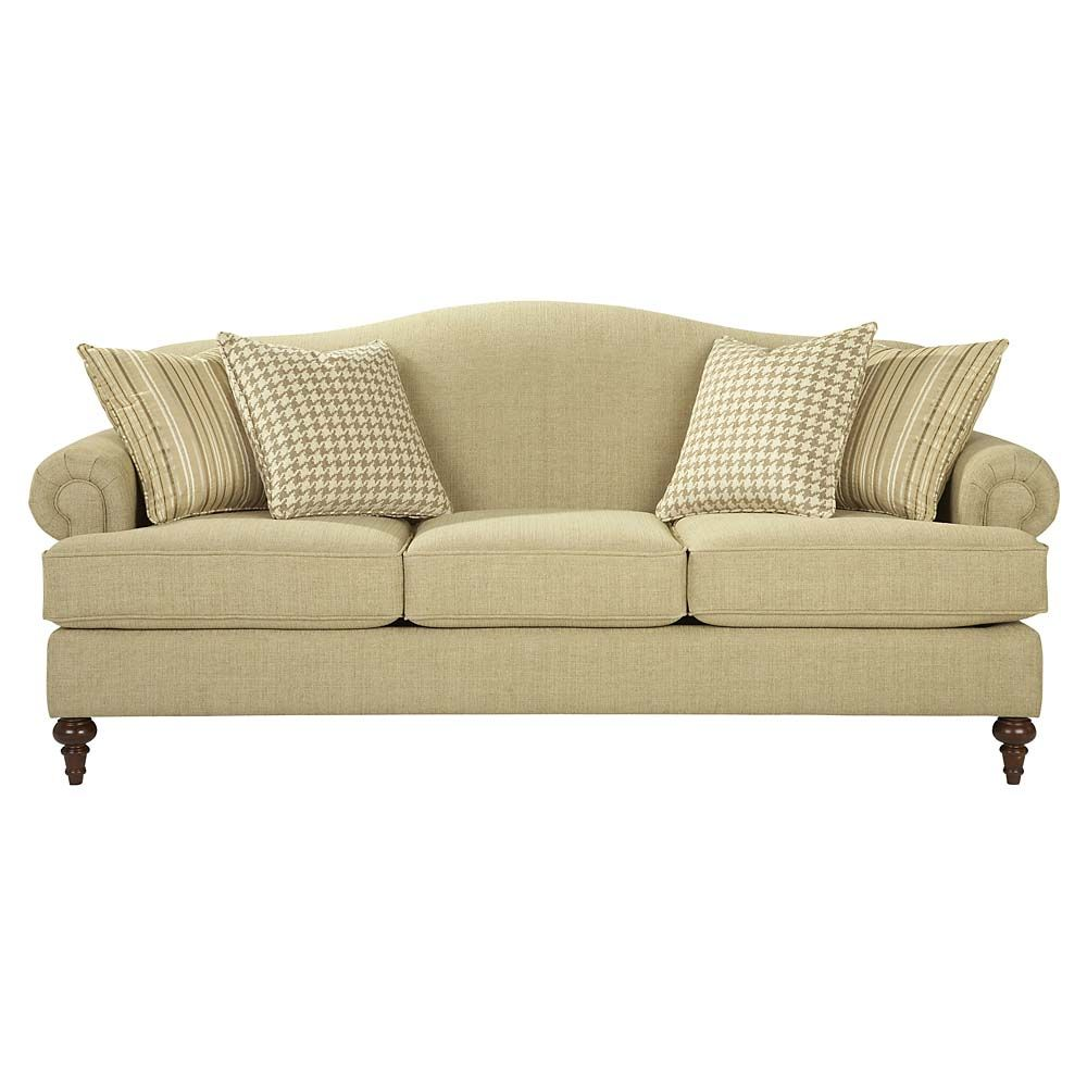 Relaxed casual couch custom classic traditional sofa for Classic traditional furniture