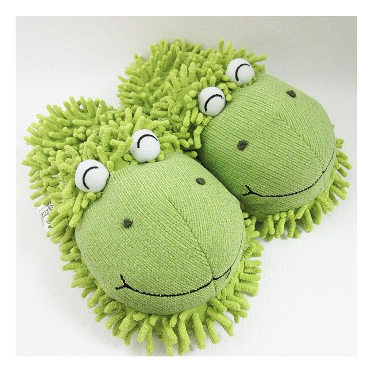 9374a99bba2 Frog Slippers