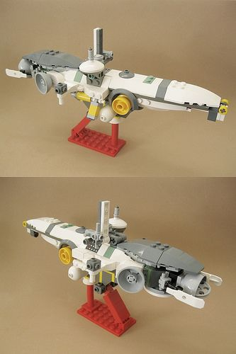 Courier Shuttle Lego Ship Lego Creations Lego Projects