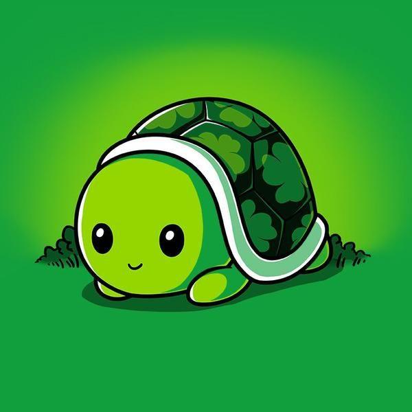 Lucky Turtle Cute Turtle Cartoon Cute Turtle Drawings Cartoon Turtle
