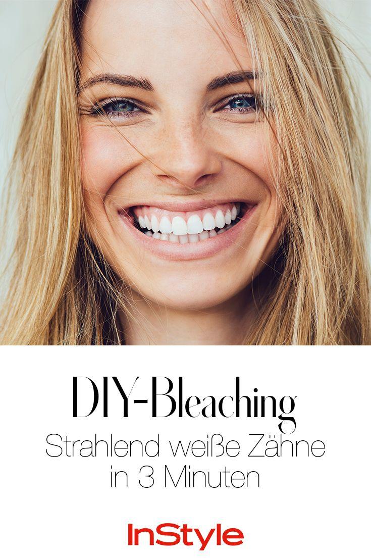 Strahlend weiße Zähne in 3 Minuten? Du brauchst nur diese 2 Dinge! #tipps #lifestyle #beauty #diy #weißezähne #beautyhacks