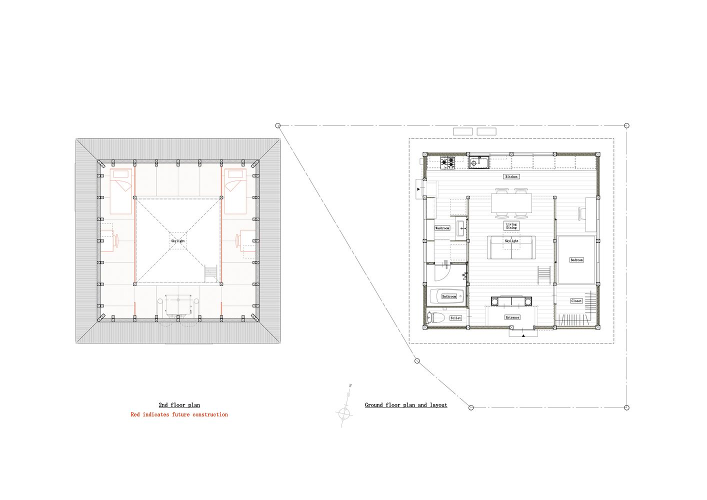 Gallery Of Togo House Tomoaki Uno Architects 17 In 2020 Small House Plans Architect House Plans