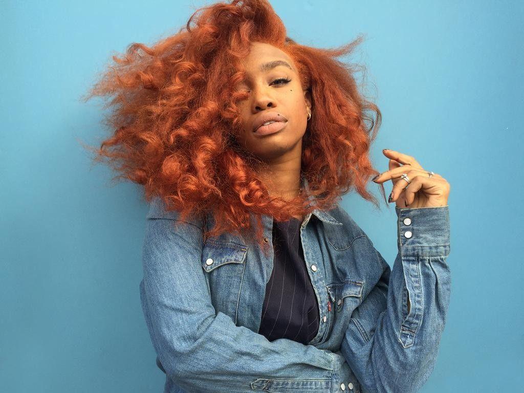 copper hair black women - google