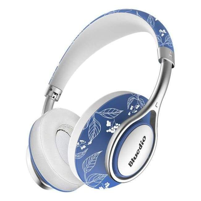 8d505805f70 Fashionable Wireless Headphones - Blue And White - Wireless Headphone