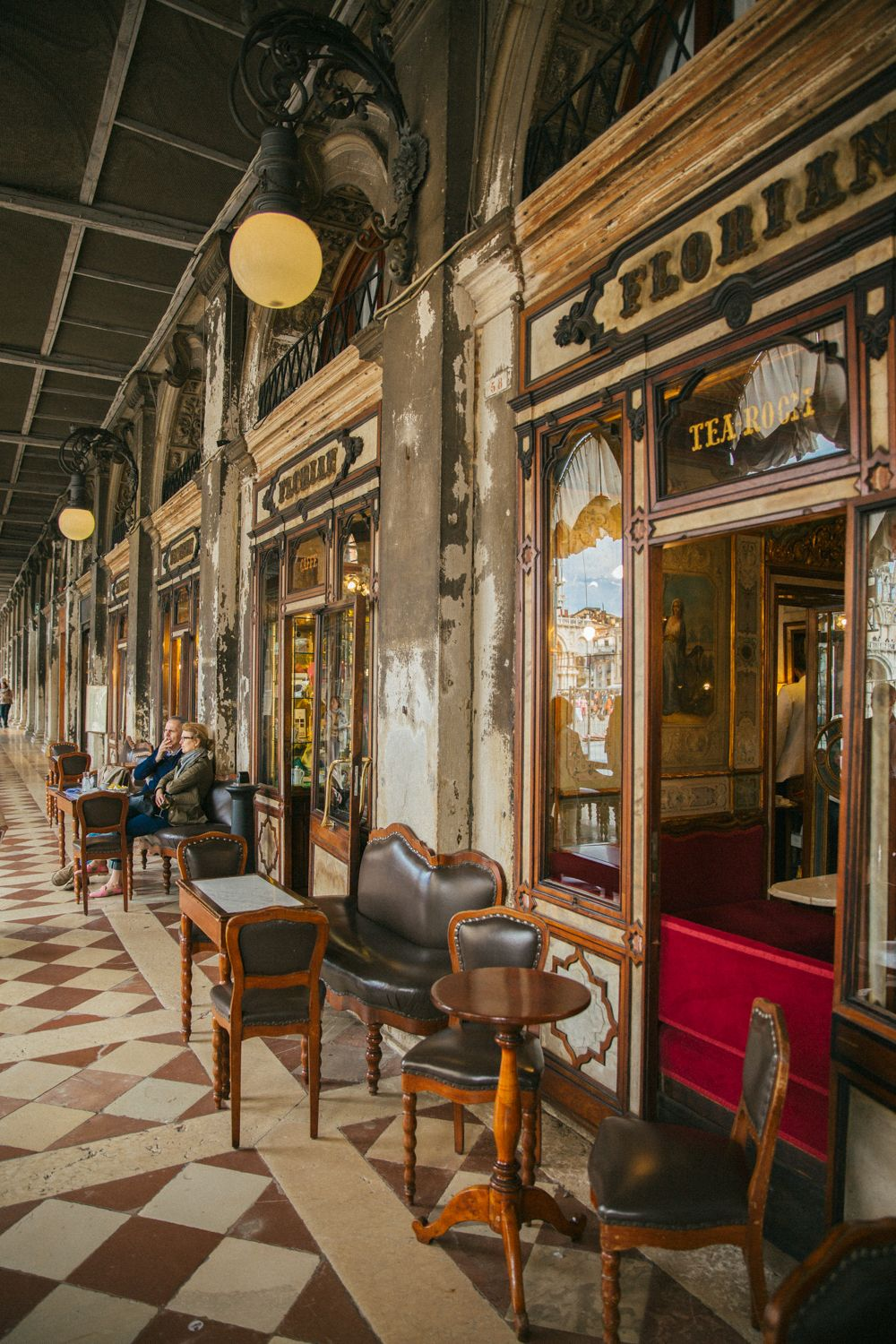 Cafe Florian (world\'s oldest cafe), Venice, Italy | Italy ...