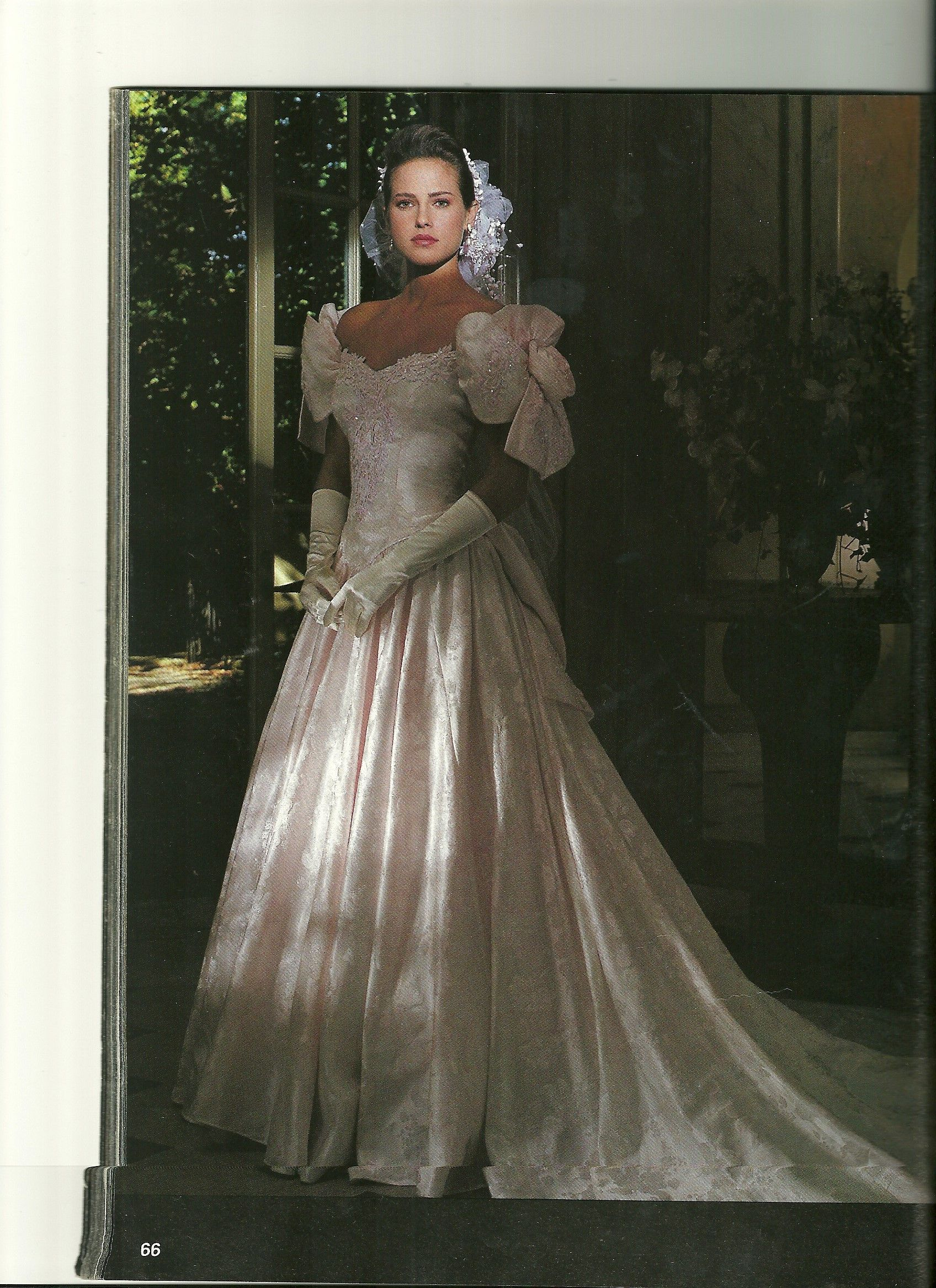 This Is The Alfred Angelo Dress I Chose For My 1991 Wedding But Pas Would Not Allow Off Shoulder