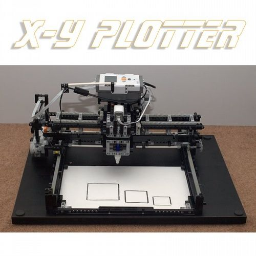 LEGO Mindstorms NXT X-Y Plotter: A LEGO creation by ...