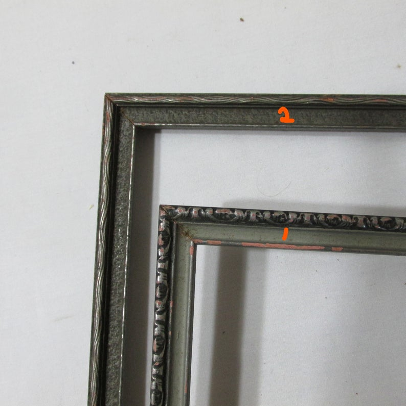 Picture Frame Wood Vintage No Glass Choose 1 Etsy In 2020 Picture Frames Wood Frame Frame