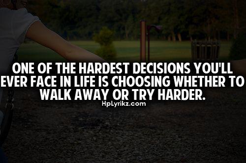 Hmmm...daily choice...