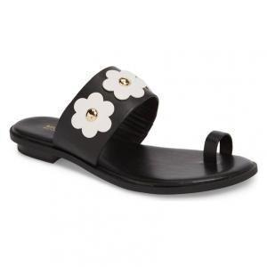 e5c1fe0d4c0 MICHAEL Michael Kors Optic White Black Sonya Sandals - 40% Off ...