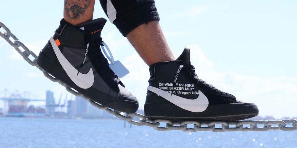 interrumpir Representar estafa  Off-White™ x Nike Blazer Spooky Pack Black On Feet | Nike blazer, Nike,  Sneaker collection