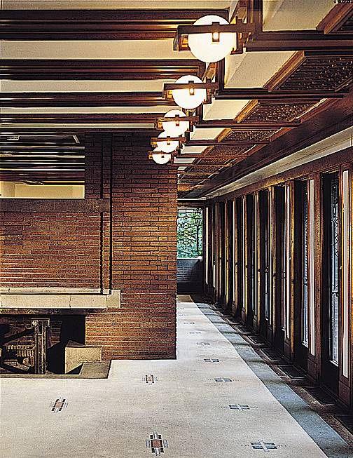 The Robie House, Interior Shot