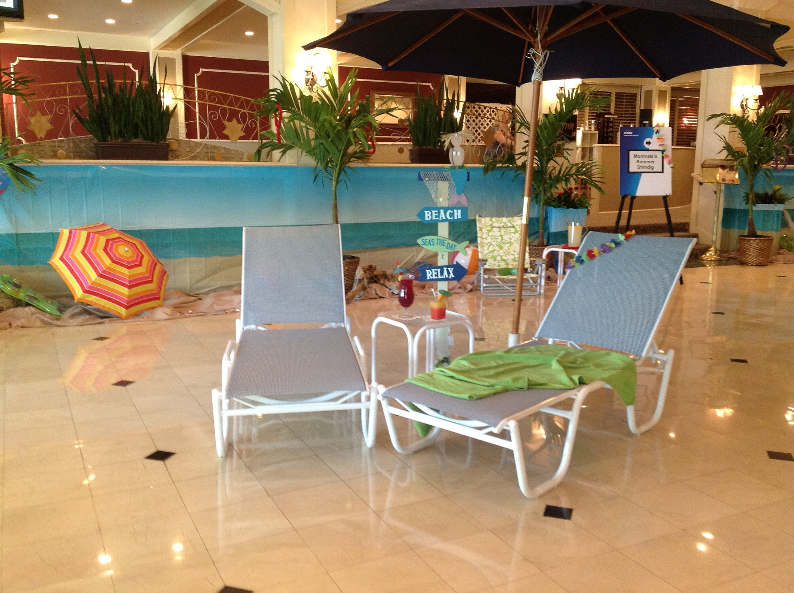 indoor beach furniture. Our Indoor Beach Scene Welcomes Guests To Outdoor Party Furniture I