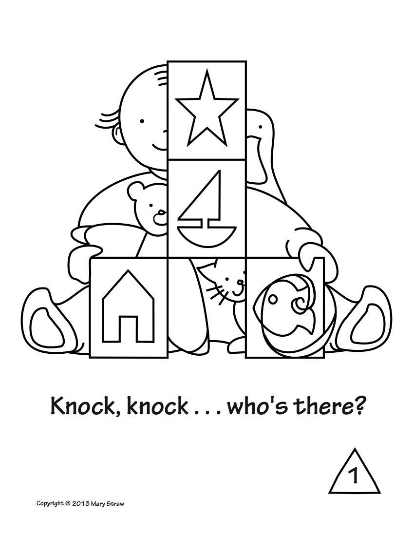 Emergent reader rhyme told on four pages includes worksheet addressing shapes, number sequencing, critical thinking and vocabulary.  PreK, Kindergarten.