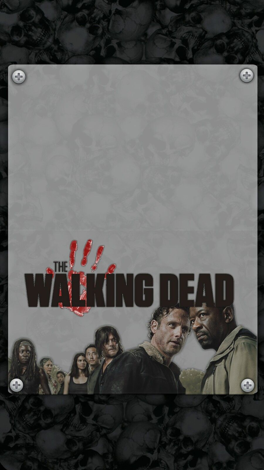 Pin By Nikkladesigns On The Walking Dead Wallpaper Halloween
