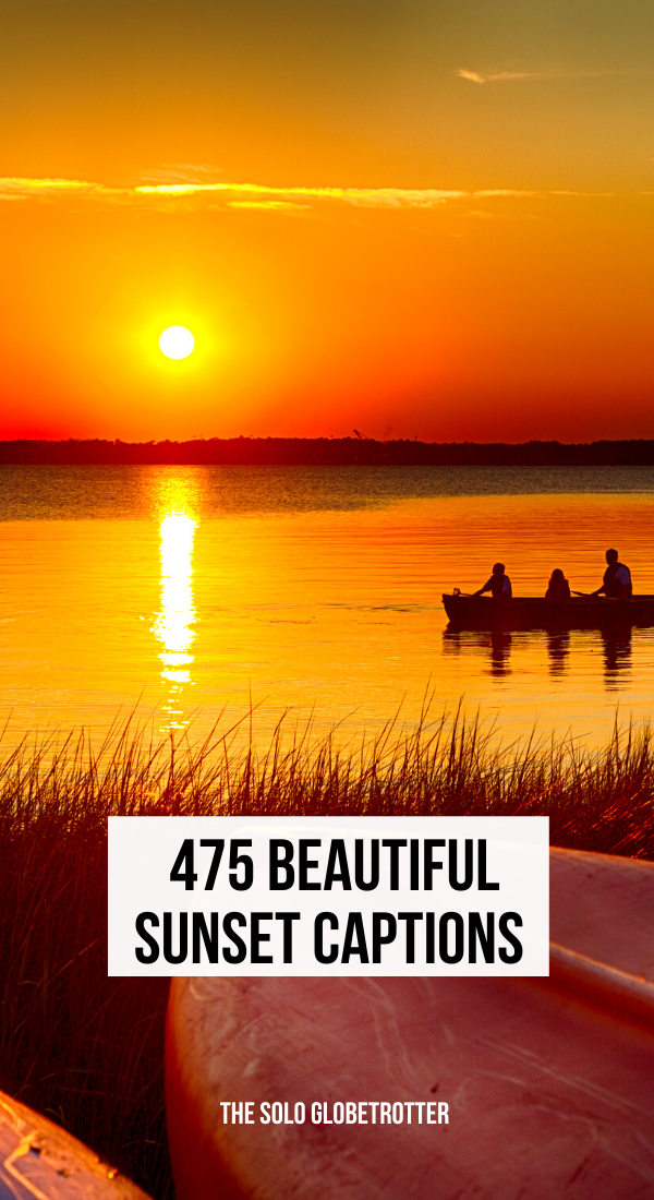 425 Sunset Captions For Instagram That Describe Its Ultimate Beauty In 2020 Instagram Captions Sunset Sunset Captions For Instagram Sunset Captions