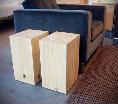 what to do with wood... STYLEGARAGE  Modern Furniture  Toronto  Vancouver