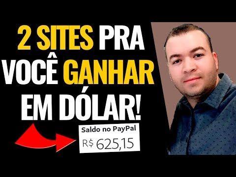 Ganhe Em Dólar Com Esses 2 Sites I Como ganhar din...