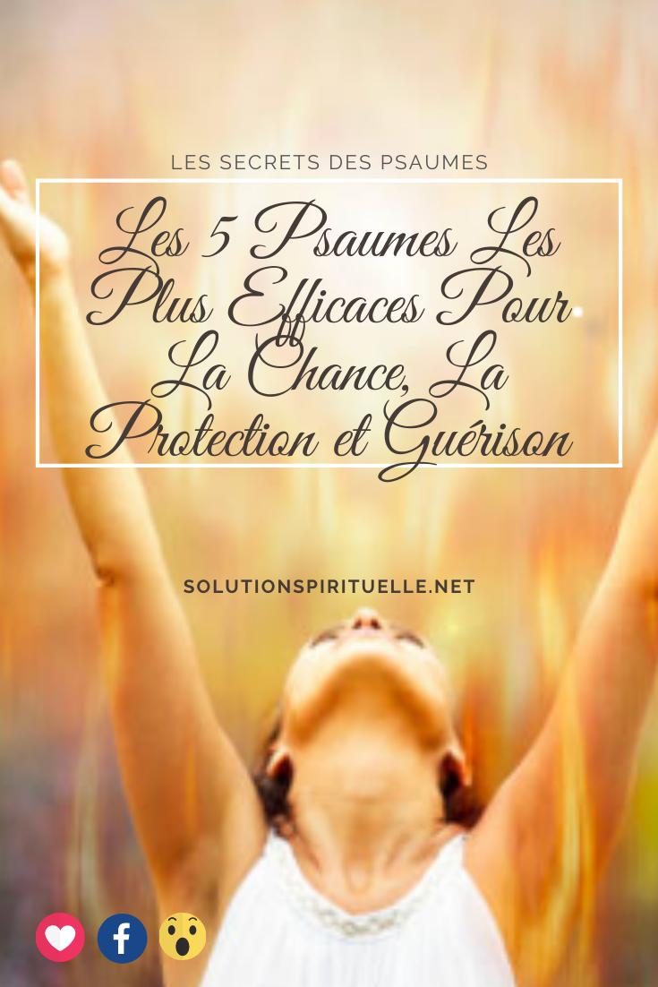 Les Psaumes Les Plus Efficaces In 2021 Positive Mind Spirituality Prayers
