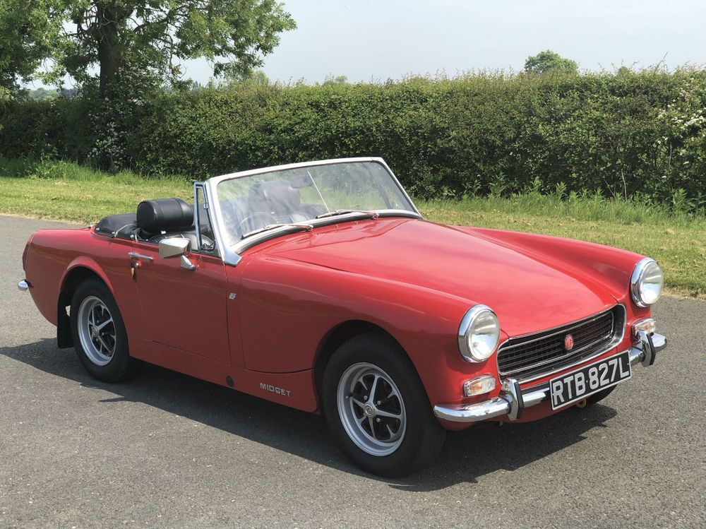 Ebay 1972 Mg Midget Mk Iii Round Wheel Arch Fully Restored Price Reduced Classicmg Mg Mgoc Mg Midget Classic Car Sales Classic Cars
