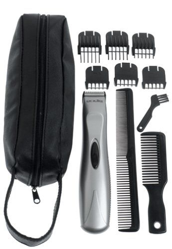 andis 22485 cordless battery operated trimmer with 6 attachments combs beard trimmers. Black Bedroom Furniture Sets. Home Design Ideas