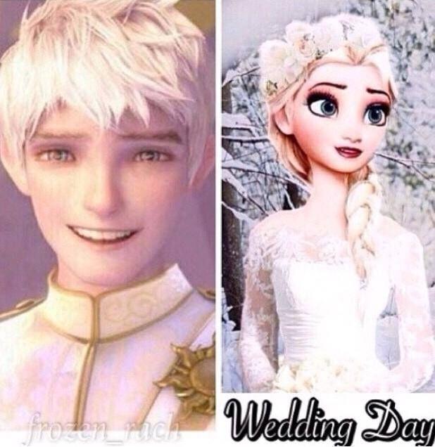 Jack And Elsa Wedding Day