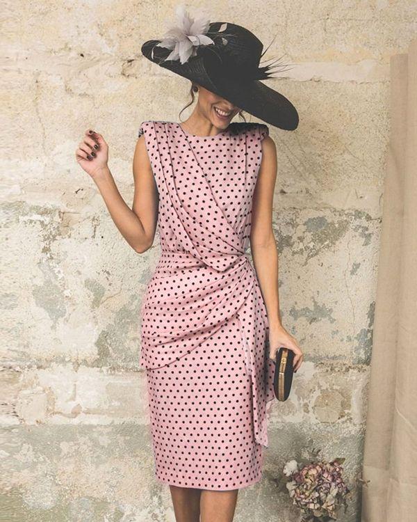 Photo of Women Elegant Wave Point Slim Plus Size Evening Dress herher…