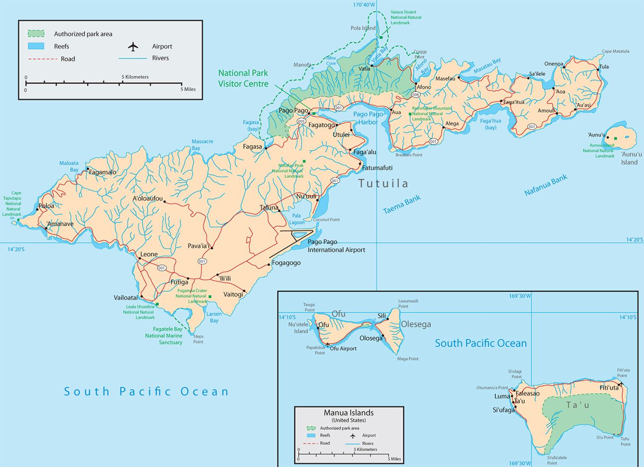 images of samoa American Samoa Map newhairstylesformen2014com