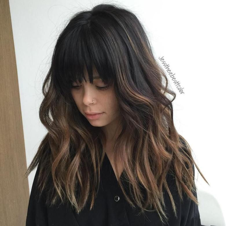 60 Chocolate Brown Hair Color Ideas For Brunettes Brown Ombre Hair