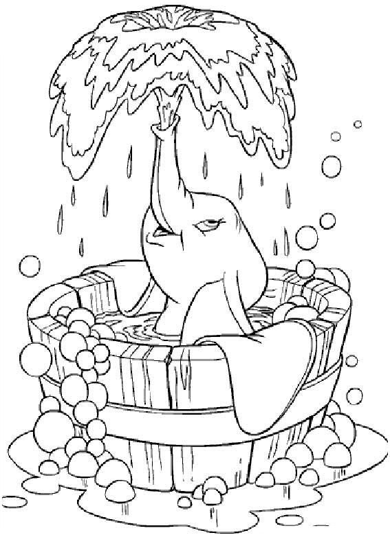 Pin By Diana Flohrschutz On My Childhood Elephant Coloring Page Disney Coloring Pages Coloring Books