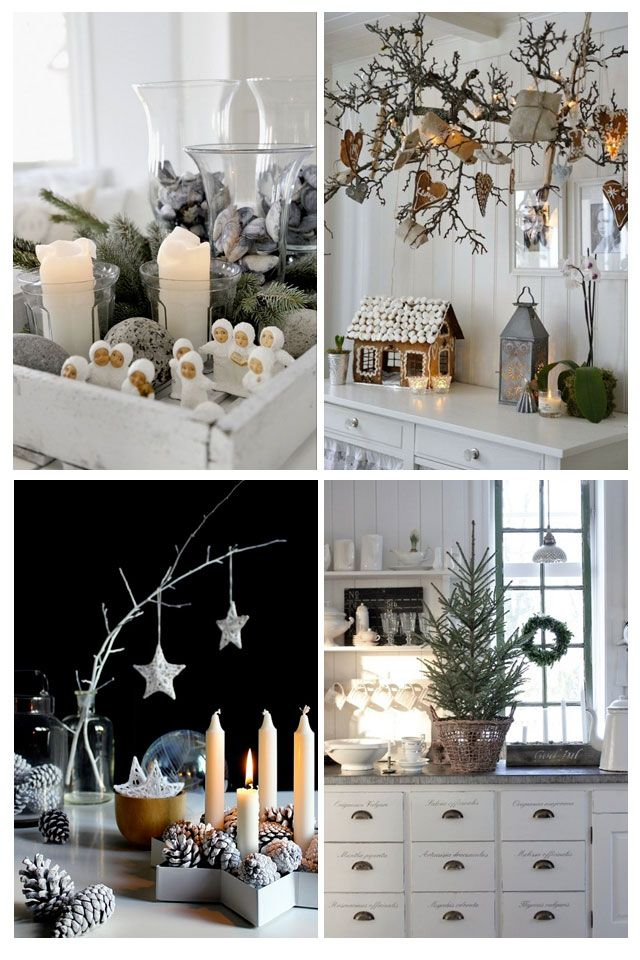 Christmas Decorating Ideas From Around The Web Scandinavian Christmas Decorations Scandinavian Christmas White Christmas Decor