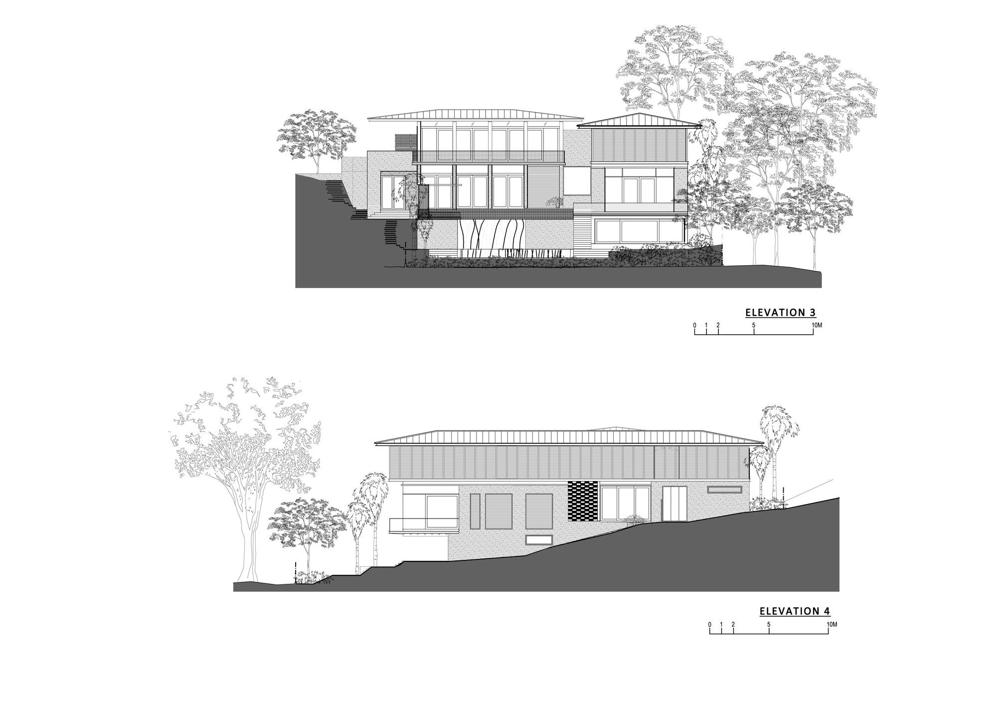 Gallery Of 21 Jervois Hill Ar43 Architects 14 House Elevation Architect Architecture