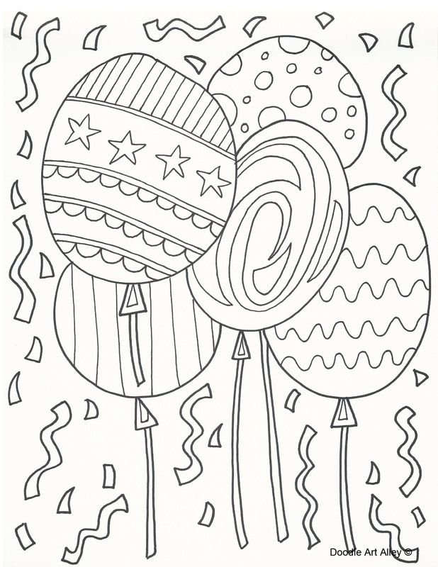 Great coloring pages | In the Classroom | Pinterest | Dibujo globo ...