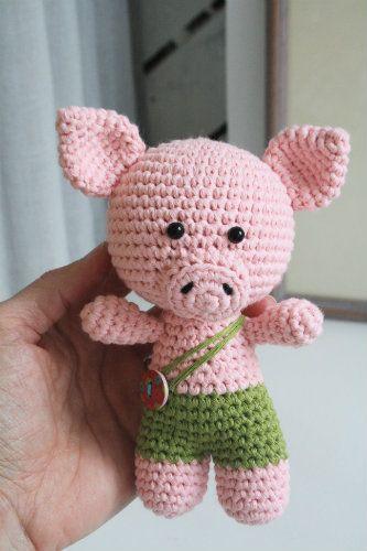 Little pig | Patrones amigurumi, Tareas y Cerdo