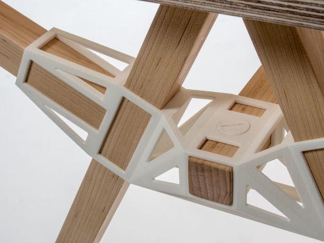 Designer Möbel mit 3dgedruckten Verbindern selber bauen
