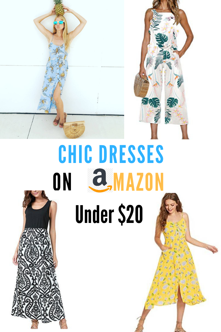 Chic Fashion Finds And Stylish Sun Dresses For Under 25 On Prime Momstyle Affordablefashion Summerstyle Bargain