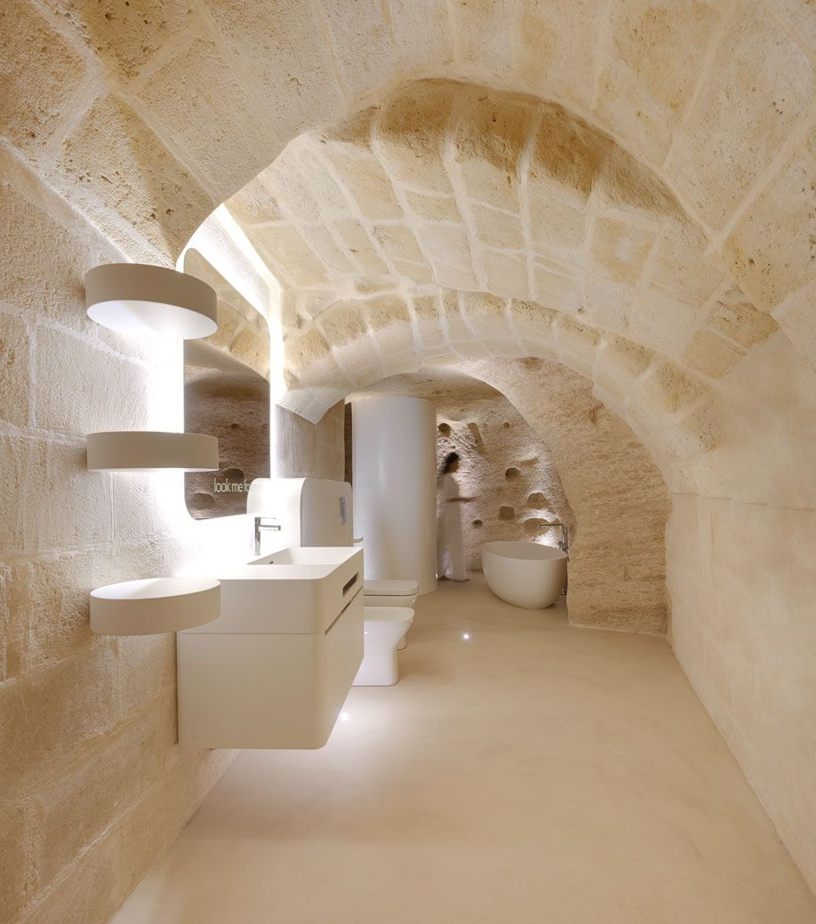 A Stunning Hotel And Spa In Matera Rejuvenates An Ancient Cave Hotel Spa Stunning Hotels Hotel