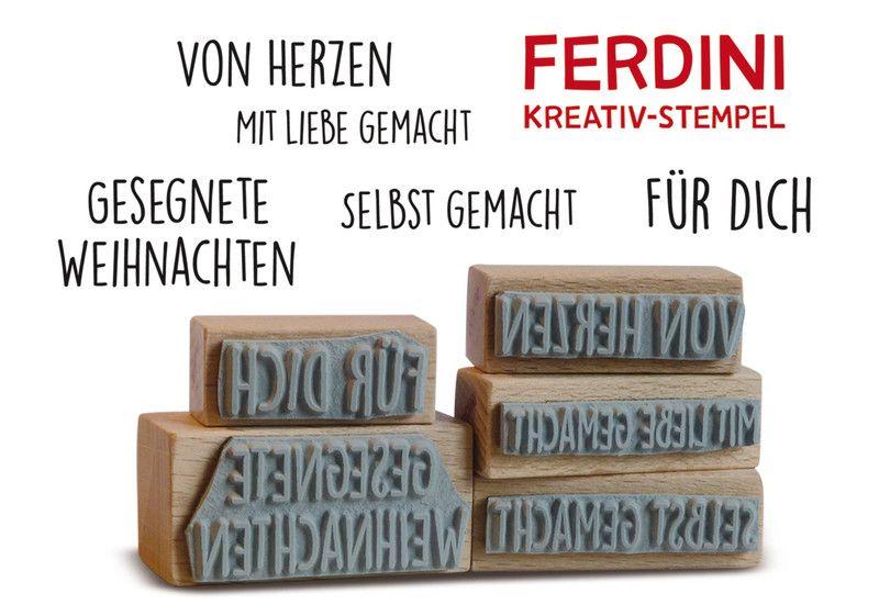 Gesegnete+Weihnachten+·+Für+Dich+·+Von+Herzen+von+FERDINI+auf+DaWanda.com
