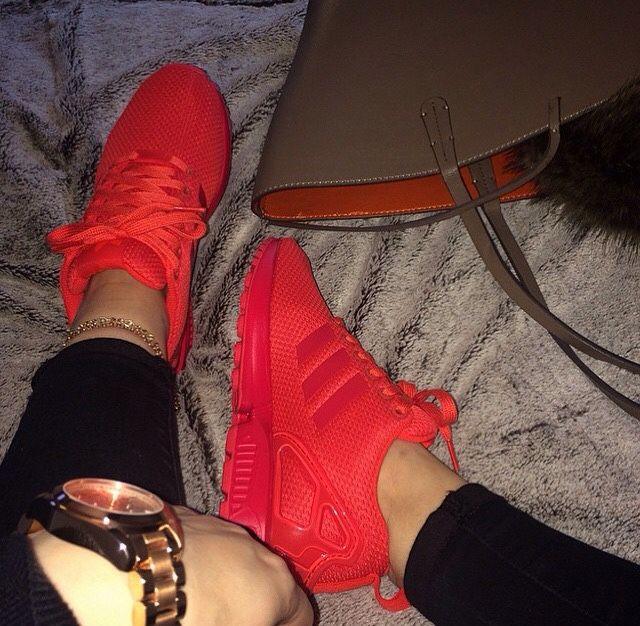 tiyaaford   Adidas shoes women, Red