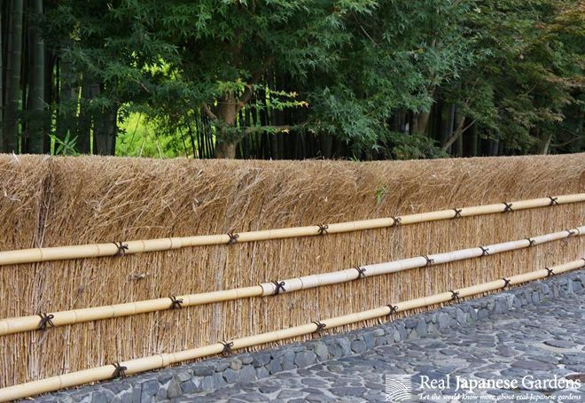 Beau Bamboo Fences   Part 1 | Real Japanese Gardens