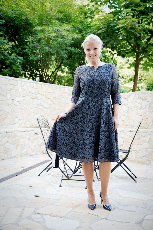 Tutorial Kleid Laboe Aus Spitze Kleid Nahen Modestil Schnittmuster Damen