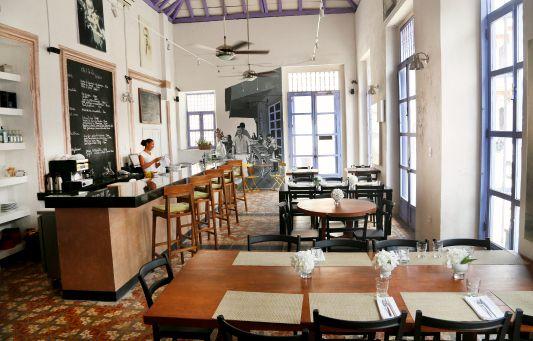 Cartagena Restaurants Oh La La Cafe Bistrot