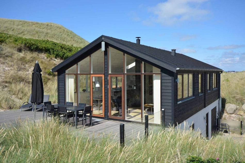 Sj44 Ferienhaus In Argab Nur 100 M Vom Meer Mit Internet Whirlpool Und Sauna Ferienhaus Danemark Ferienhaus Ferienhaus Holland Am Meer