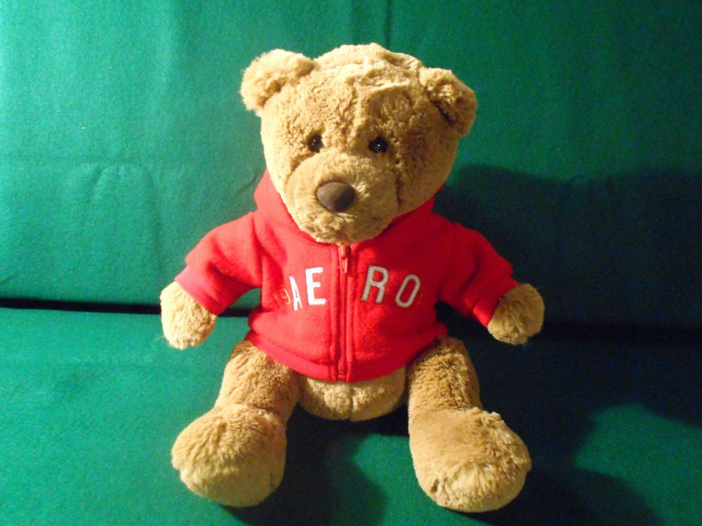AEROPOSTALE teddy with hoddie jacket NEW without tags  REALLY SOFT and CUDDLEY