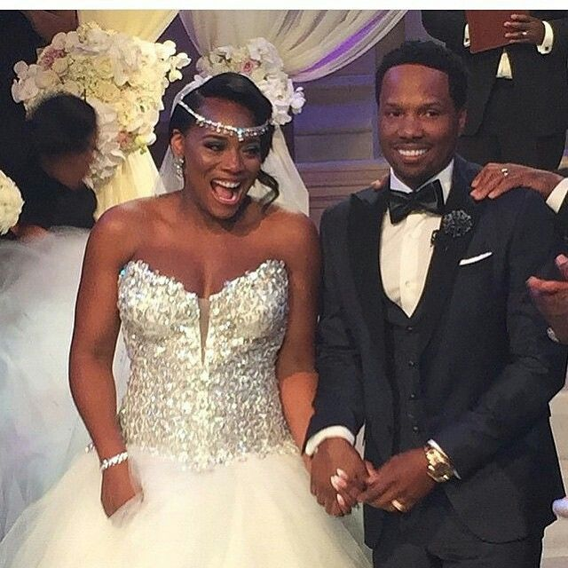 Wedding Dress Congratulations To Yandy Mendeecee Harris From The Love Hip Hop Franchise