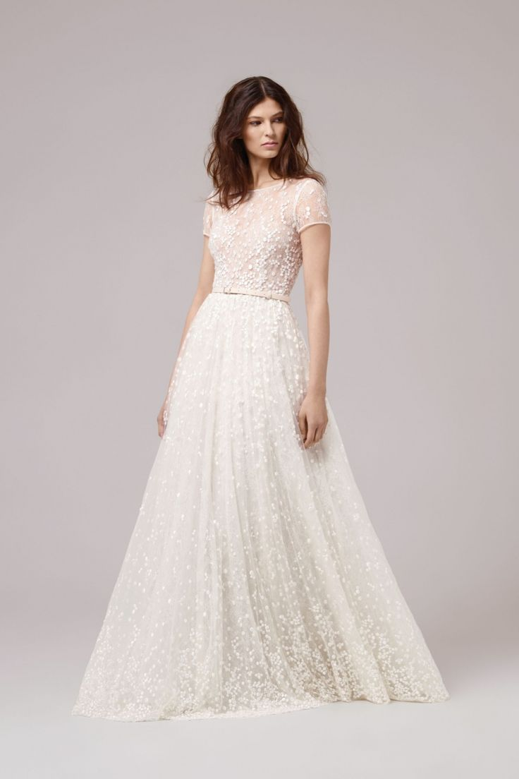 Anna Kara bridal 2017 - unique laidback belted celestial wedding ...