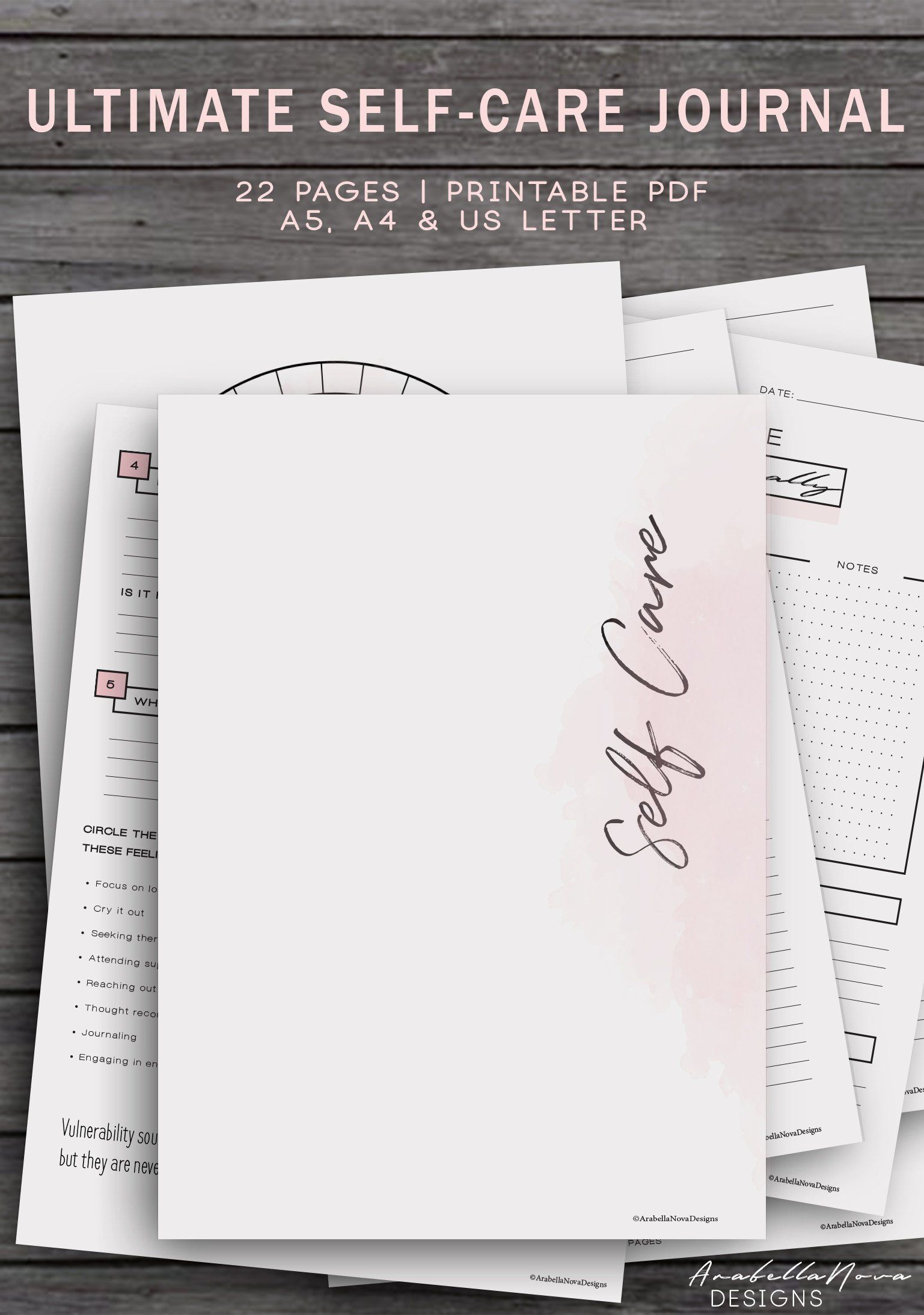 Exciting News The Self Care Journal Is Coming Updated